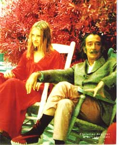 Dali with Christine