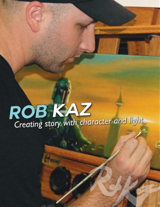 Image: Artist Rob Kaz