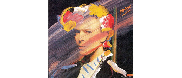 David Bowie by Peter Max