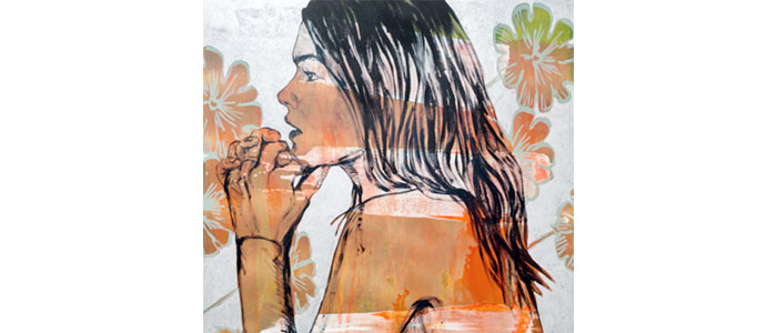 Los Angeles, Ca: June 2016: Andrew Weiss Gallery presents, in its Los Angeles premier, a collection of paintings capturing free spirited, alluring, LA women on canvas.