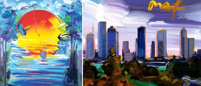 Peter Max Exhibit Opens in Houston