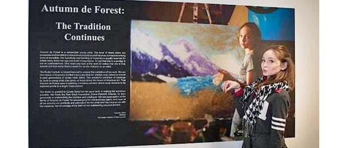 Autumn de Forest in the News