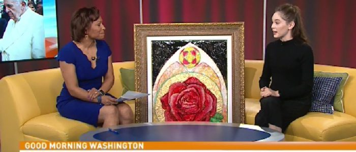 Meet Autumn De Forest, the 15 year old art prodigy with a painting hanging in the Vatican!