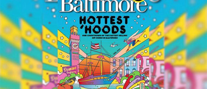 Peter Max Baltimore Magazine Cover