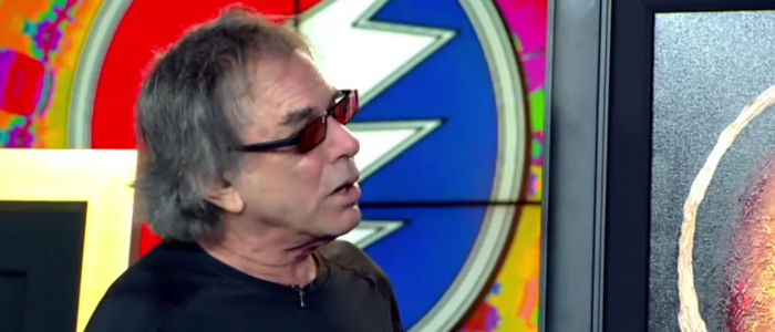 Grateful Dead legend Mickey Hart shows his art work on Good Day