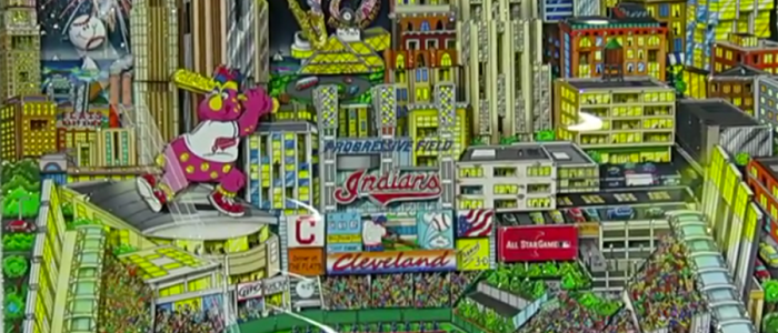 Artist Charles Fazzino on his unique style of art and his new piece for the 2019 All-Star Game in Cleveland.