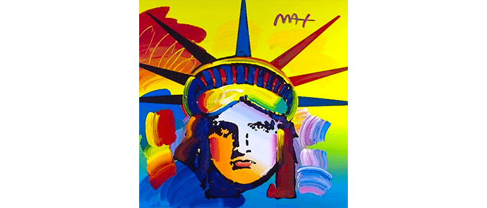 RALEIGH MAGAZINE SECURED IN SUPPORT OF PETER MAX RETROSPECTIVE