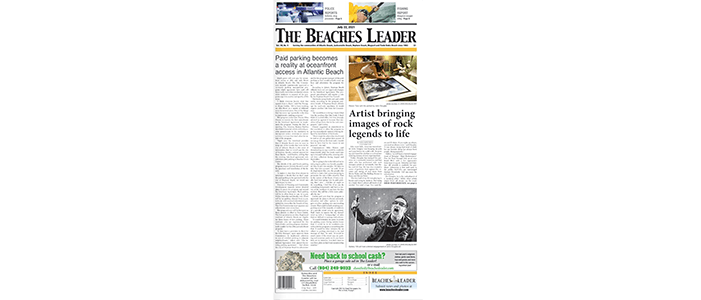 RELEVANT SECURES FRONT PAGES IN MARKETS IN WHICH WE PRESENT ARTISTS