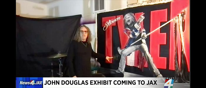 RELEVANT SECURES WJXT NEWS 4 JAX IN SUPPORT OF JOHN DOUGLAS EXHIBITION